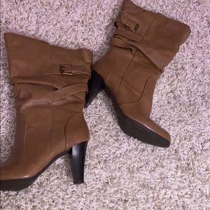 a.n.a heeled boots size 8